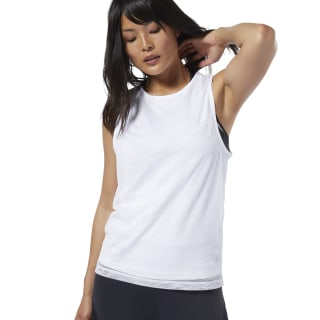 Cardio Performance Tank Top White EB8105
