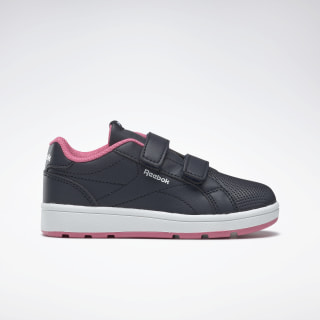 Reebok Royal Complete Clean Shoes Navy / Astro Pink / White DV9430