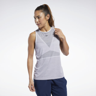 United by Fitness ACTIVCHILL Vent Tank Top Sterling Grey FQ4452