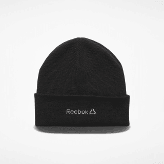 Foundation Logo Beanie Black / Medium Grey EC5587