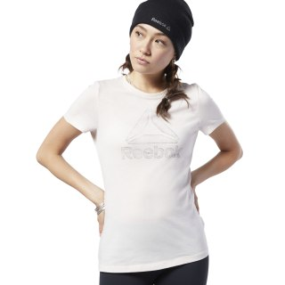 Remera Gs Traced Delta Crew Tee pale pink EC2029