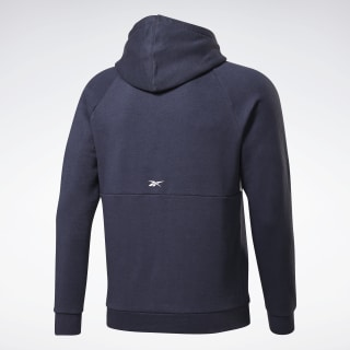 Training Essentials Linear Logo Hoodie Heritage Navy FR8127