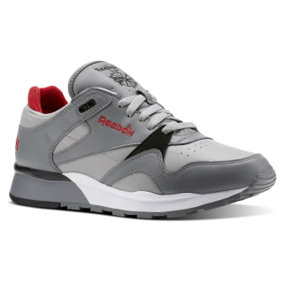 Classic Leather II Foggy Grey/Mgh Solid Grey/Excellent Red/White CN3902
