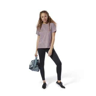 Training Essentials Marble Detail Tee Lilac Fog DU4922