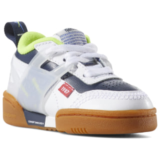 Workout Plus Altered - Toddler WHITE / COLL NAVY / NEON LIME DV5249