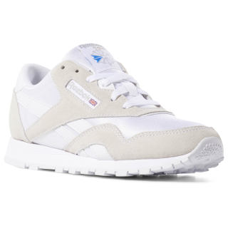 Classic Nylon - Primary School White / Light Grey DV4447