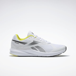 Reebok Endless Road 2.0 Shoes White / Black / Hero Yellow EH2654