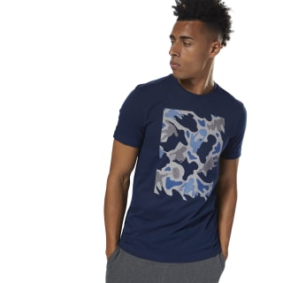GS Training Camo Tee Collegiate Navy DH3792