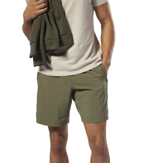 Short WOR Woven Army Green DW7395