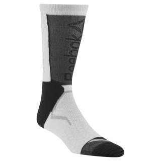 Reebok CrossFit Unisex Tech Crew Socks White CZ9948