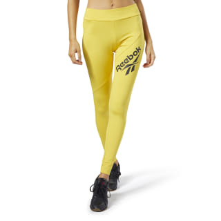 Leggings Classics Vector Toxic Yellow EB4256