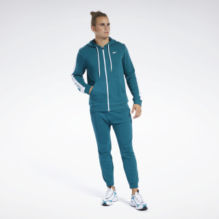 Training Essentials Track Suit Heritage Teal FP8157