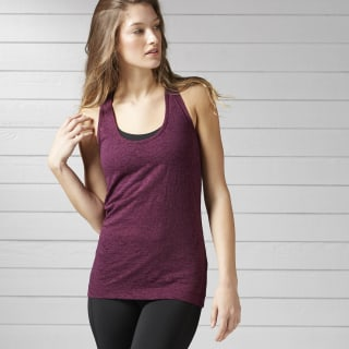 Camiseta sin Mangas Reebok Burnout Pacific Purple BP8221