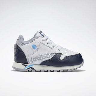 CLASSIC LEATHER White / Navy / Cyan / Chalk DV9604