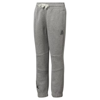 Boys Training Essentials Fleece Pant Medium Grey Heather DJ3078