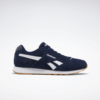 Reebok Royal Glide Lux Shoes Collegiate Navy / White / None EG9406