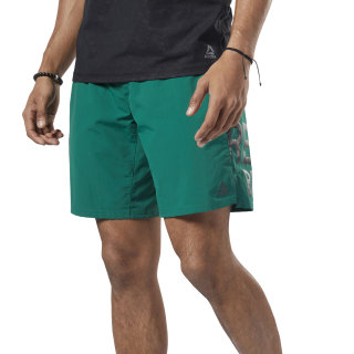 Short One Series Training Colorblock Clover Green EC0984