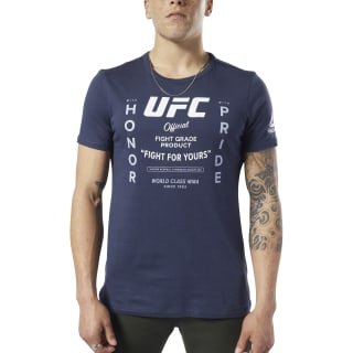 UFC Fan Gear Retro Tee Heritage Navy EC1260