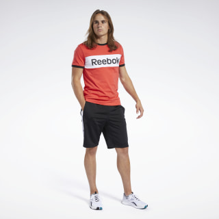 Short Training Essentials Linear Logo Black FK6108