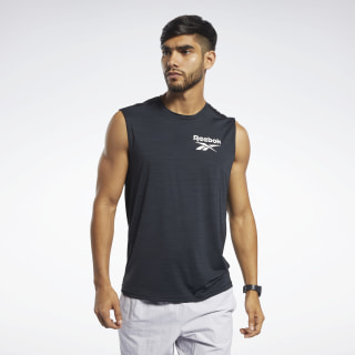 Workout Ready ACTIVCHILL Sleeveless Tee Black FK6191
