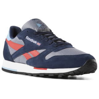 Tênis M Classic Leather Mu cold grey / navy / white / red DV3836