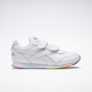 Reebok Royal Classic Jogger 2.0 Shoes White / Radiant Red / Sunbaked Orange FV7836