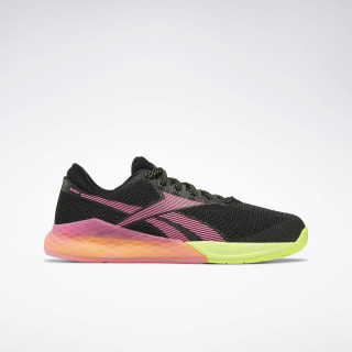 Кроссовки Reebok Nano 9 Black/black/solar yellow/black EG4634