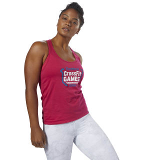 Camiseta sin mangas CrossFit Games Rugged Rose DN5554