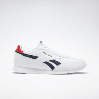 Reebok Royal Classic Jogger White / Collegiate Navy / Primal Red EG1585