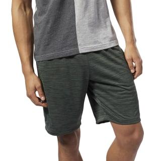2d61558eab8 Reebok Workout Ready Knitted Shorts - Green | Reebok US