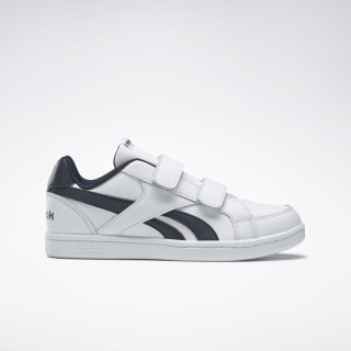 Reebok Royal Prime Alt Shoes White / Collegiate Navy DV9306