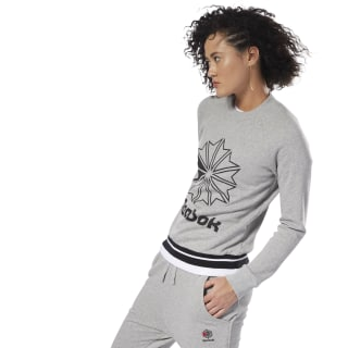 Classics French Terry Crew Medium Grey Heather DH1384