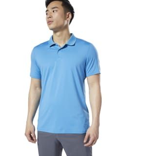 WOR Polo Shirt Cyan EC0896