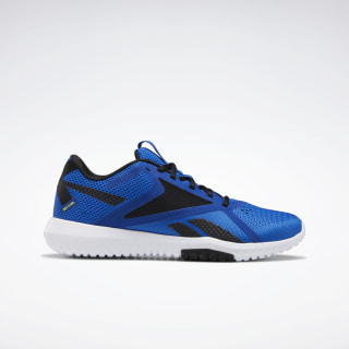 Reebok Flexagon Force 2.0 Shoes Humble Blue / Black / Hero Yellow EH3551