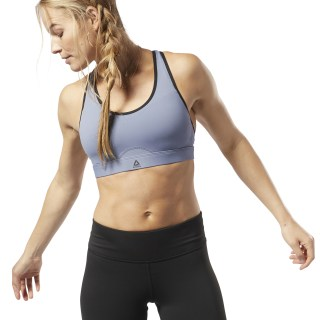 Hero Power High-Impact Workout Bra Washed Indigo EB8166
