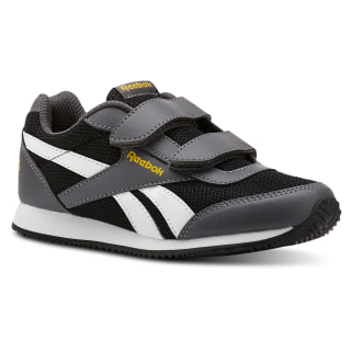 Reebok Royal Classic Jogger 2.0 2V Mesh-Black / Ash Grey / Fierce Gold CN4952