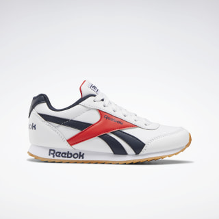 Reebok Royal Classic Jogger 2.0 Shoes White / Collegiate Navy / Radiant Red EH1789