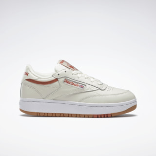 Кроссовки Reebok Club C Double White/chalk/mars dust/reebok rubber gum-05 FW3622