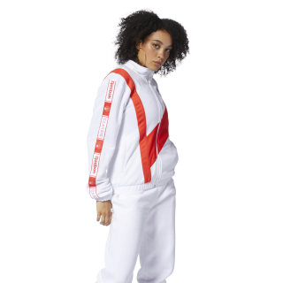 Classics Track Top White DT7261