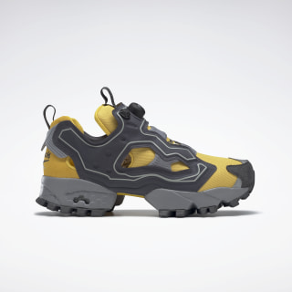 InstaPump Fury Trail Shroud Shoes Toxic Yellow / Cold Grey 7 / Cold Grey 4 EG3572
