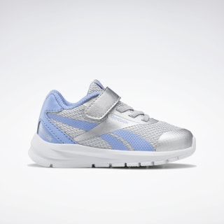 Reebok Rush Runner 2.0 Shoes Silver Metallic / Cornflower Blue / White EH0617