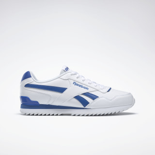 Reebok Royal Glide Ripple Clip White / Vital Blue BS6805