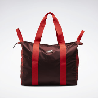 Tote bag imprimé Tech Style Burnt Sienna FL5381