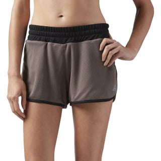 Spodenki Sustainable Mesh Brown CE4551