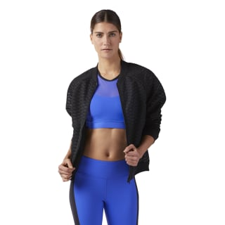 Chaqueta Mesh Bomber Black CD3802