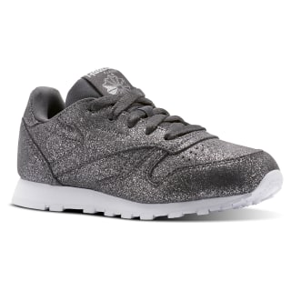 Classic Leather Ms-Pewter/Ash Grey/White CN5588