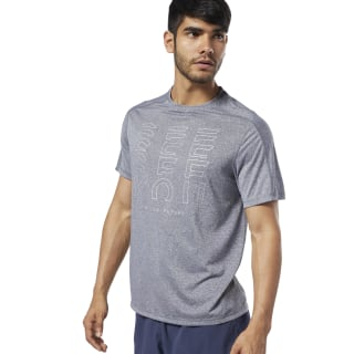 One Series Running Reflective Move Tee Black EC2535