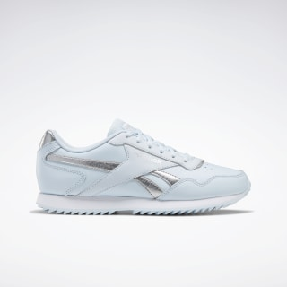 Tênis Reebok Royal Glide Ripple Glass Blue / Silver Met. / White EF7622