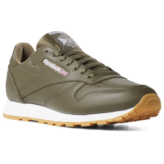 Classics Leather MU ARMY GREEN / WHITE / GUM DV4697