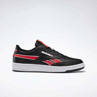 Club C Revenge Plus Shoes Black / White / Neon Red EF8871